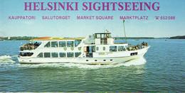 Bateau. Helsinski Sightseeing By Boat. - Boats