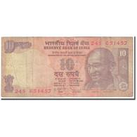 Billet, Inde, 10 Rupees, 2012, Undated (2012), KM:102, TB - India