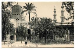 RC 20861 EGYPTE CAIRO COURTYARD MOSQUE MOERIRT CARTE POSTALE - POSTCARD - Cairo