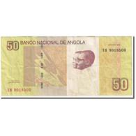 Billet, Angola, 50 Kwanzas, 2012, Octobre 2012, KM:152, TB - Angola