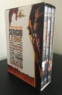 Coffret 6 DVD Sergio Leone 3 Films + 3 Disques Bonus (tournage + Scènes Inédites) Boîtier Avec Usures Mais Disques Neufs - Classic