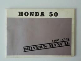 Manuel Informations Moto Mobylette Honda 50 Honda 300 Sport  Honda 250 Honda 125 ... - Motor Bikes