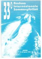 1995 BAVENO   33° RADUNO INTERNAZIONALE SOMMERGIBILISTI - Verbania