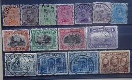 BELGIE  1915     Nr. 135 - 149  Met  5 Franken       Gestempeld   CW  200,00 - 1915-1920 Albert I