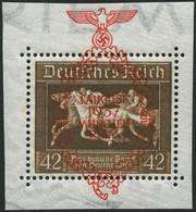 Dt. Reich 649 **, 1937, 42 Pf. München-Riem, Pracht, Mi. 75.- - Unused Stamps