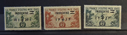 04 - 21 / Indochine N° 297 - 298 - 299 ** - Unused Stamps