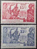 R2452/866 - 1939 - COLONIES FR. - INDOCHINE - N°203 à 204 NEUFS* - Unused Stamps
