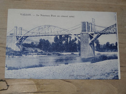 VALLON : Le Nouveau Pont En Ciment Armé ............. 201101d-3820 - Vallon Pont D'Arc
