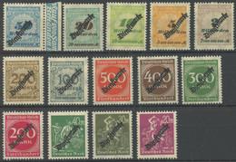 DIENSTMARKEN D 75-88 **, 1923, Freimarken, Postfrischer Prachtsatz, Mi. 50.- - Dienstpost