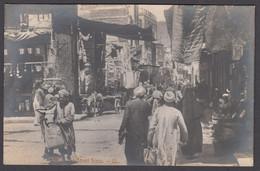 Egypt - CAIRO, Arab Street Scene, Real Photo By L.L. - Cairo