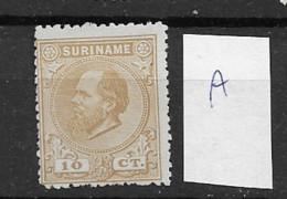 1873 Mint Suriname NVPH 6A - Suriname ... - 1975