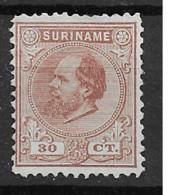 1873 Mint Suriname NVPH 11 - Suriname ... - 1975