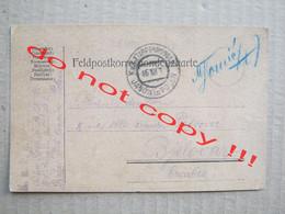 Feldpostkorrespondenzkarte / K. U. K. Etappenpostamt Janów In Polen Poland ( 1915 ) / Traveled To Bjelovar - WW1