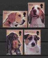 Turks & Caicos 2003 Hunde/Dogs Mi.Nr. 1803/06 Satz ** - Turks E Caicos