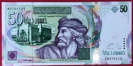 N°39 BILLET DE BANQUE DE TUNISIE 50 DINARS 2008 NEUF - Tunisia