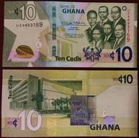 Ghana - 10 Cedis 2019 UNC Lemberg-Zp - Ghana