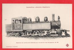 NEW ZEALAND  RAILWAY    STEAM ENGINE LOCOMOTIVE TRAIN - New Zealand