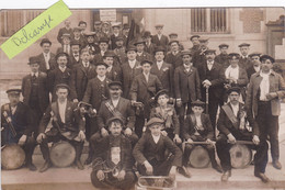 92- MONTROUGE (Hauts De Seine)-CARTE-PHOTO- Les CONSCRITS De MONTROUGE- CLASSE 1910-                 (8/4/21) - Montrouge