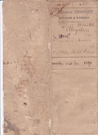 Manuscrit : Acte Notarial : Entre  C. A. BERLATIER Négociant à Romans Et T. E. THOME à Romans Sur Isère : Drôme : 1880 - Manuscripts