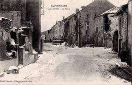 BADONVILLER  -  LGrande Rue  -  La Poste - Other Municipalities