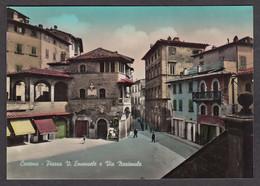 067864/ CORTONA, Piazza V. Emanuele E Via Nazionale - Andere Steden