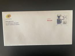 PAP France 2018 / 2019 Lettre Monde Métiers D'Art Céramiste Philaposte Phil@poste Usage Interne NEUF RARE - Prêts-à-poster: Other (1995-...)