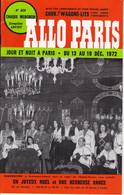 """C 13) """" Allo Paris """" 809/ 1972 (40 Pages Fmt A 5) - Unclassified"""