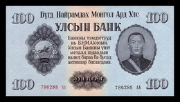 Mongolia 100 Tugrik 1955 Pick 34 SC UNC - Mongolia