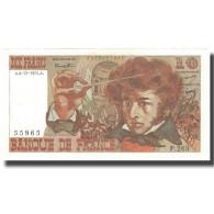 France, 10 Francs, Berlioz, 1975, 1975-12-04, SPL+, Fayette:63.15, KM:150b - 10 F 1972-1978 ''Berlioz''