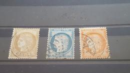 LOT538861 TIMBRE DE FRANCE OBLITERE N°36 A 38 - 1870 Besetzung Von Paris