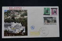 ALGÉRIE - Enveloppe FDC En 1962 - Surchargés EA - L 94586 - Algerije (1962-...)