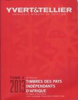 Catalogue Yvert & Tellier 2013 : Pays Indépendants D'Afrique - Tome 2 - 2ème Partie - Frankrijk