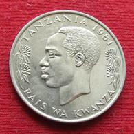Tanzania 1 Shilingi 1981 KM# 4 *V2  Tanzanie Shilling - Tanzania