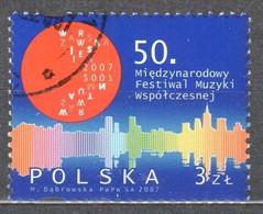 Poland 2007  International Autumn Festival - Mi.4331 - Used - Usati