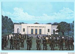INDONESIEN - National Monument - Museum - Diorama Geschichte Nr. 39 --- AK Postcard Cover (2 Scan)(7951AK) - Indonesia