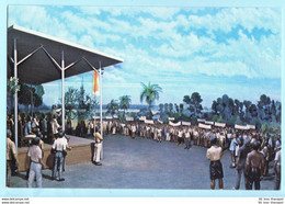 INDONESIEN - National Monument - Museum - Diorama Geschichte Nr. 40 --- AK Postcard Cover (2 Scan)(7952AK) - Indonesia