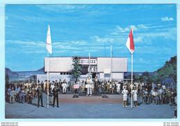 INDONESIEN - National Monument - Museum - Diorama Geschichte Nr. 44 --- AK Postcard Cover (2 Scan)(7953AK) - Indonesia