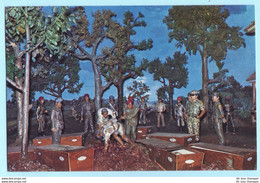 INDONESIEN - National Monument - Museum - Diorama Geschichte Nr. 45 --- AK Postcard Cover (2 Scan)(7954AK) - Indonesia