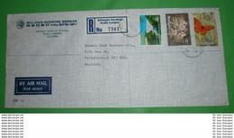 MALAYSIA - Registered R- Brief Letter Lettre 信 Lettera Carta пи�?ьмо Brev 手紙 จดหมาย Cover Envelope (2 Foto)(34125) - Malaysia (1964-...)