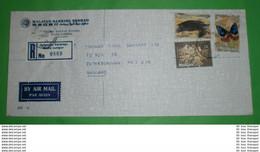 MALAYSIA - Registered R- Brief Letter Lettre 信 Lettera Carta пи�?ьмо Brev 手紙 จดหมาย Cover Envelope (2 Foto)(34129) - Malaysia (1964-...)