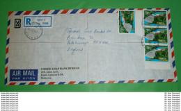MALAYSIA - Registered R- Brief Letter Lettre 信 Lettera Carta пи�?ьмо Brev 手紙 จดหมาย Cover Envelope (2 Foto)(34145) - Malaysia (1964-...)