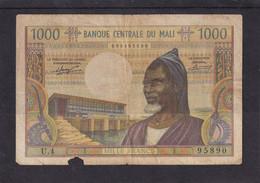 Mali  1000 Fr P 13 VG - Mali