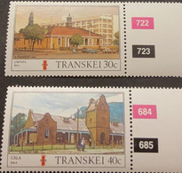 M) 1984, SOUTH AFRICA, TRANSKEI, TRANSKEI POST OFFICES, AH BARRETT, UMTATA, CALA - Transkei