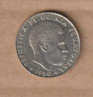 GUINEA EQUATORIAL  5 Bipkwele 1980 Copper-nickel • 4.8 G • ⌀ 22.5 Mm KM# 51 - Equatorial Guinea