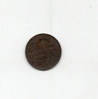 Italia - 1904 - Vittorio Emanuele III° - 1 Centesimo -  Valore - (FDC29336) - 1900-1946 : Vittorio Emanuele III & Umberto II