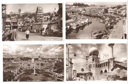 Singapore - 1955 - 4 Cards - Singapore