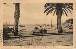 CPA Sanary-sur-Mer Un Coin Du Quai Victor Hugo FRANCE (1103876) - Sanary-sur-Mer