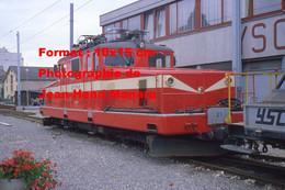 ReproductionPhotographie D'une Locomotive Sainte-Croix YSteC à Sainte-Croix En Suisse En 1981 - Reproductions