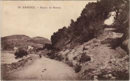 CPA Bandol Route De Sanary FRANCE (1104625) - Bandol