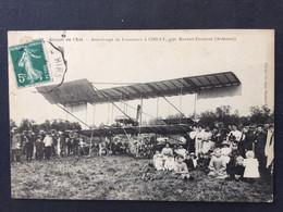 CIRCUIT DE L'EST - Atterrissage De LEGAGNEUX à CHILLY , Près Maubert -Fontaine - Altri Comuni